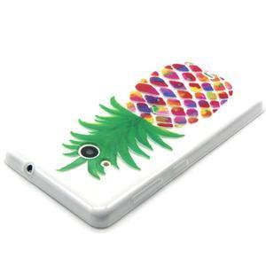 Gélový obal pre mobil Microsoft Lumia 535 - ananás - 3