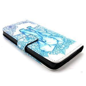 Peneženkové puzdro na mobil LG G4c - slon - 3