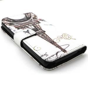 Peneženkové puzdro na mobil LG G4c - Eiffelova veža - 3