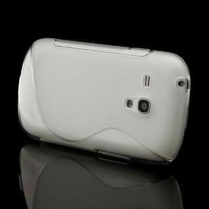 Transparentní gélové puzdro pre Samsung Galaxy S3 mini /i8190 - 3