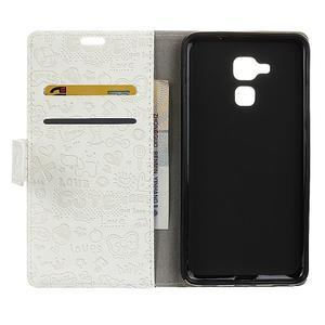 Cartoo pouzdro na mobil Honor 7 Lite - bílé - 3