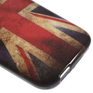 Gélový kryt pre HTC One mini 2 - UK vlajka - 3