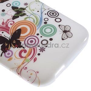 Gélový kryt na HTC One mini 2 - motýlkové - 3