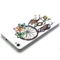 Transparentní gelový obal na Huawei Ascend P8 Lite - snění - 3/4