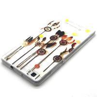 Transparentné gélový obal na Huawei Ascend P8 Lite - dream - 3/4