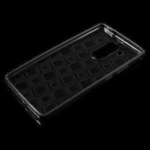Square gelový obal na Huawei Mate 8 - šedý - 3