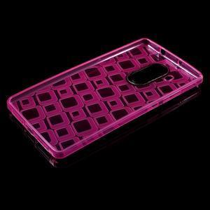 Square gelový obal na Huawei Mate 8 - rose - 3