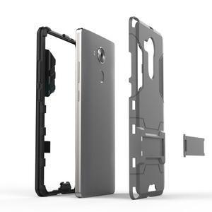 Armor odolný kryt na mobil Huawei Mate 8 - stříbrný - 3
