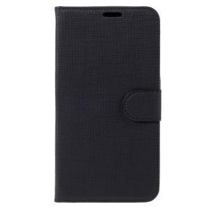 Clothy PU kožené puzdro na Huawei Mate 8 - čierne - 3