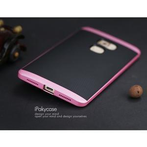 Odolný hybridní obal 2v1 na Huawei Mate S - růžový - 3