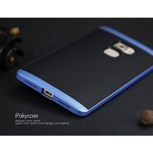 Odolný hybridní obal 2v1 na Huawei Mate S - modrý - 3