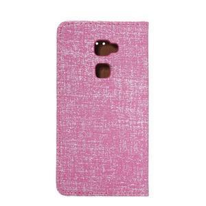 Style knížkové pouzdro na mobil Huawei Mate S - rose - 3