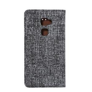 Style knižkové puzdro na mobil Huawei Mate S - čierne - 3