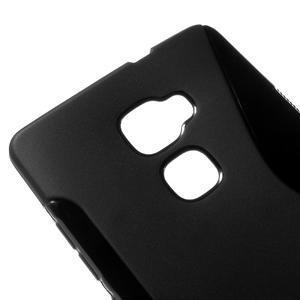 S-line gelový obal na mobil Huawei Mate S - černý - 3