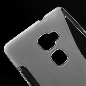 S-line gelový obal na mobil Huawei Mate S - transparentní - 3