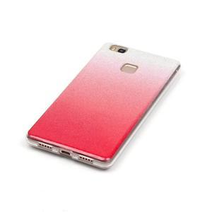 Gradient třpitivý gelový obal na Huawei P9 Lite - rose - 3