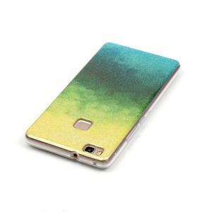 Gradient třpitivý gelový obal na Huawei P9 Lite - mix barev II - 3