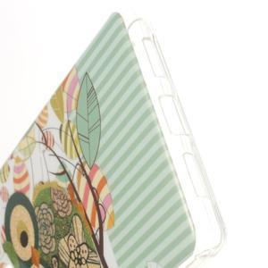 Skiny gelový obal na mobil Huawei P9 Lite - sova na větvi - 3