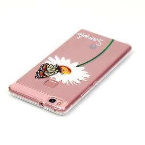 Transparentní obal na telefon Huawei P9 Lite - sedmikráska - 3