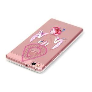 Transparentní obal na telefon Huawei P9 Lite - snění - 3