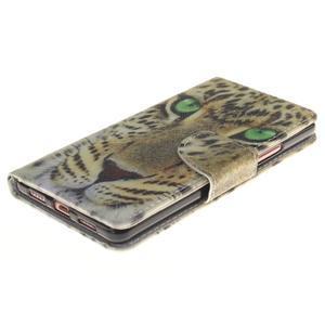 Lethy knížkové pouzdro na telefon Huawei P9 Lite - leopard - 3