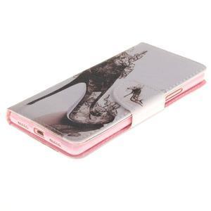 Lethy knižkové puzdro na telefon Huawei P9 Lite - pekelná črievica - 3