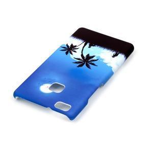 Shelly gelový obal na mobil Huawei P9 Lite - palmy - 3