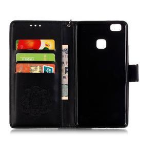 Dreaming PU kožené pouzdro na Huawei P9 Lite - černé - 3