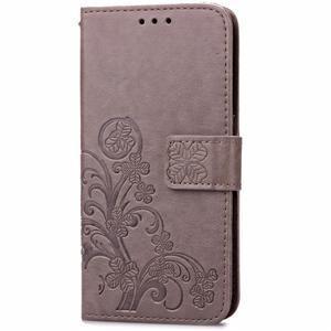 Cloverleaf penženkové pouzdro na Huawei P9 Lite - šedé - 3