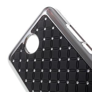 Drahokamový kryt na Huawei Y635 - čierny - 3