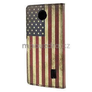 Peňaženkové puzdro Huawei Y635 - US vlajka - 3