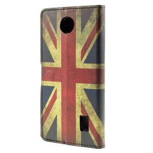 Peňaženkové puzdro Huawei Y635 - UK vlajka - 3