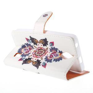 Zapínací peňaženkové puzdro na Huawei Y635 - folk - 3