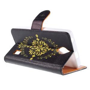 Zapínací peňaženkové puzdro na Huawei Y635 - arabesque - 3
