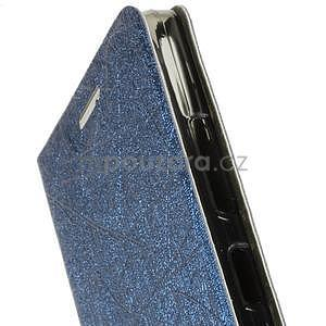 Klopové puzdro pre Lenovo A6000 - tmavo modré - 3