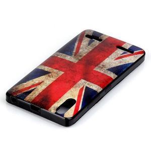 Jelly gelový obal na mobil Lenovo A6000 - UK vlajka - 3