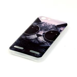 Gelový obal na Lenovo Vibe K5 / K5 Plus - cool kočka - 3