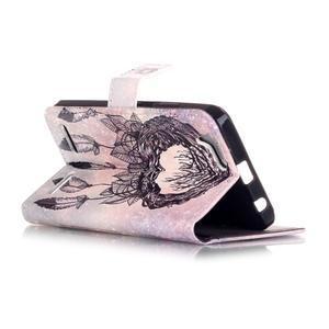 Knížkové puzdro pre mobil Lenovo Vibe K5 / K5 Plus - lapač snov - 3