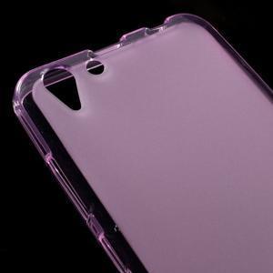 Matný gélový obal pre mobil Lenovo Vibe K5 / K5 Plus - ružový - 3