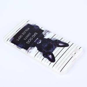 Softy gélový obal pre mobil Lenovo Vibe K5 / K5 Plus - zlý pes - 3