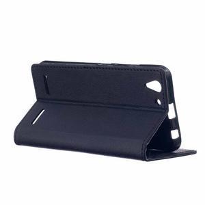 Peněženkové pouzdro na Lenovo Vibe K5 / K5 Plus - černé - 3
