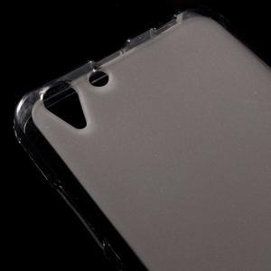 Matný gélový obal pre mobil Lenovo Vibe K5 / K5 Plus - šedý - 3