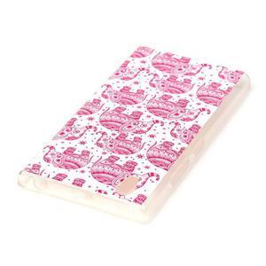 Softy gélový obal pre mobil Lenovo P70 - ružoví slony - 3