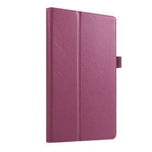 Dvojpolohové puzdro pre tablet Lenovo Tab 2 A8-50 - fialové - 3