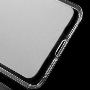 Matný gélový obal pre mobil Lenovo Vibe S1 - Transparentný - 3