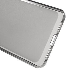 Matný gelový obal na mobil Lenovo Vibe S1 - šedý - 3