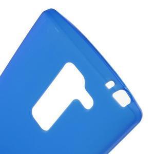 Matný gélový kryt na LG Spirit - modrý - 3