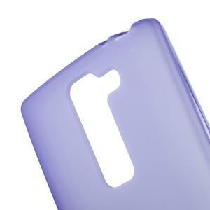 Matný gélový kryt na LG Spirit - fialový - 3