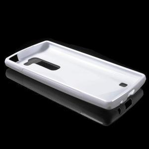 S-line gélový obal pre LG Spirit 4G LTE - biely - 3