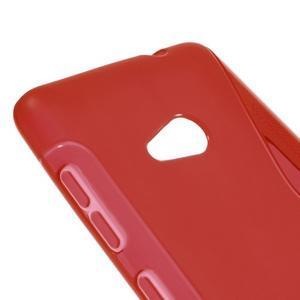 Gélový obal na Microsoft Lumia 535 - červený - 3